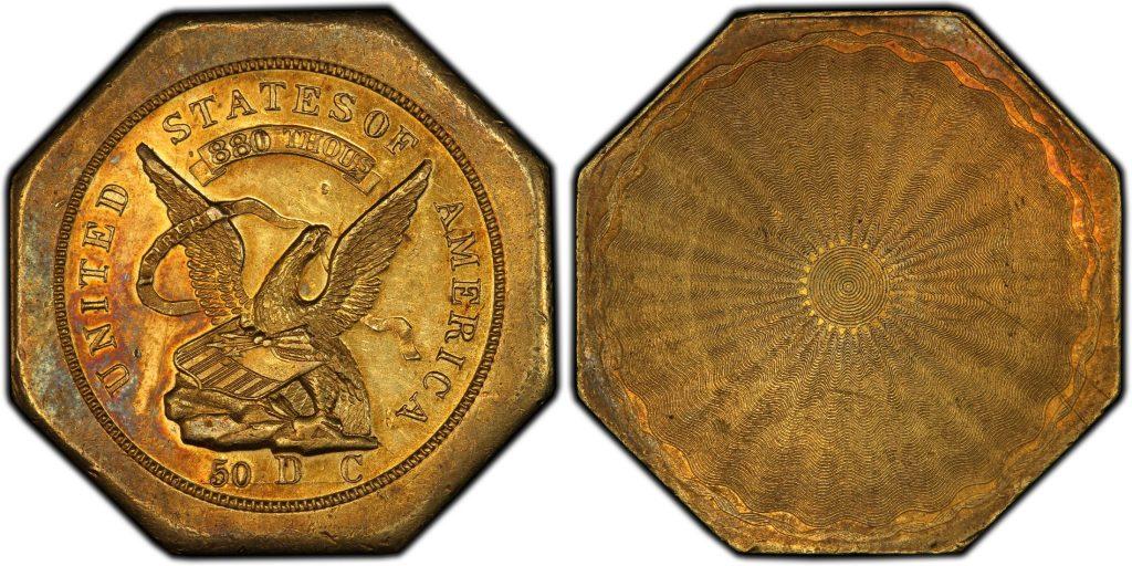 1851$50 レタードエッジハンバート880  トータルで残存56枚