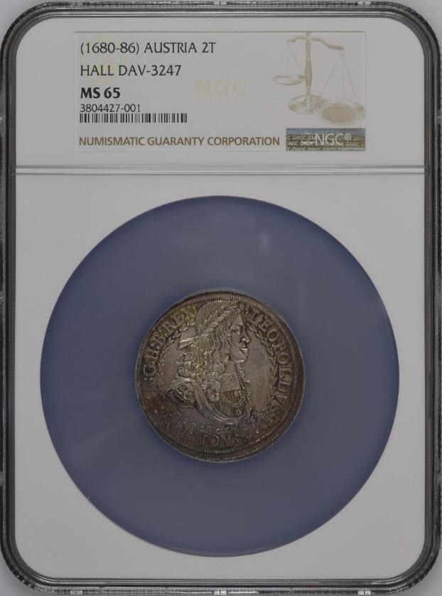 オーストリア レオポルト1世1670...